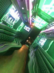 Inside 30 LGE Party bus 4