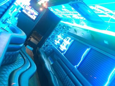 Inside 30 Pass LGE party bus